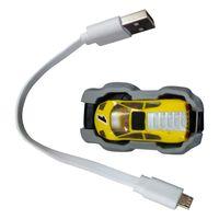 Novo brinquedo Criativo telefone AR aérea modelo de telefone móvel do carro de corrida jogo de esportes amarelo