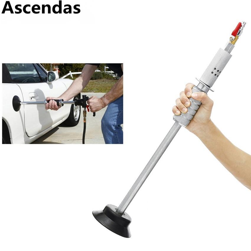 Car Paint Hammer Pneumatic Air Suction Auto Body Dent Puller w Slide Hammer Remove Repair Dents
