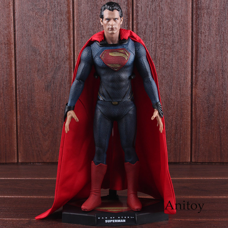Superman Man of Steel 1/6 Scale Collectible Figure Collector's Edition PVC Superman Action Figure Collectible Model Toy 31cm цена