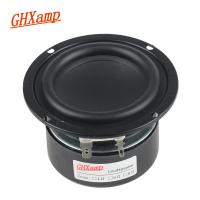 GHXAMP 3 INCH Subwoofer Woofer Speaker Small Steel Gun Speaker Flax Cone Long Stroke 2 Way