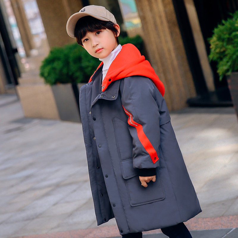 Winter Jackets for Boy Warmly Duck Down Coat 2018 New Arrival Fashion Parkas Children Outerwear age 6 8 10 12 14 years big boy new arrival 2018 winter europe fashion women s duck down coat