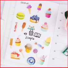 25 pcs Afternoon tea personalized scrapbook Stickers scrapbooking material sticker happy planner decoration craft
