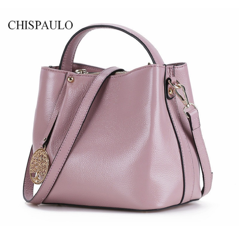 ФОТО New Fashion Genuine Leather Bucket 2015 Women Formal Office Messenger Bags Brand New Vintage Crossbody Handbag Elegant Work Bag