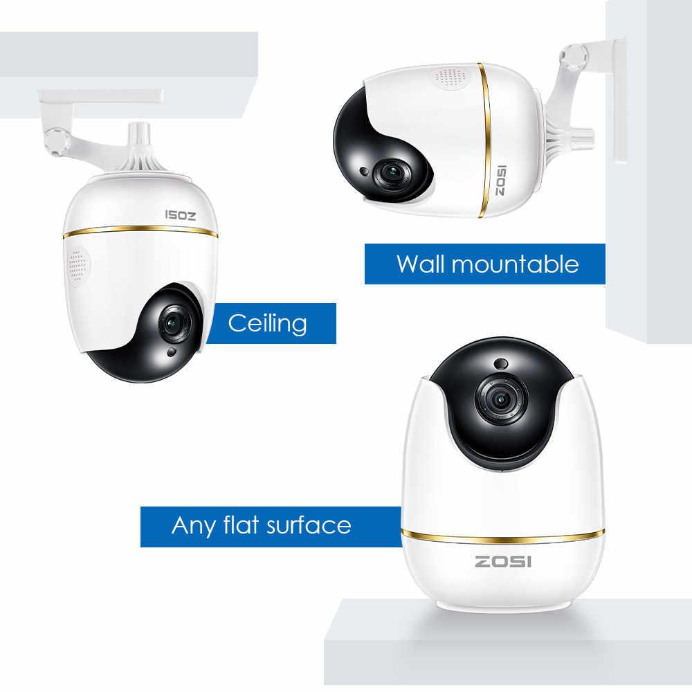 ZOSI 1080P HD Wifi Wireless Home Securityกล้องIP 2.0MP IRกล้องวงจรปิดCCTVกล้อง 2-Way audio Baby Monitor
