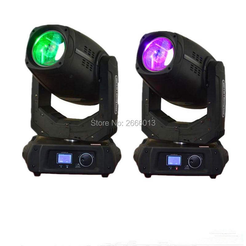 2pcs 280W 10r Beam Spot Wash 3in1 Moving Head Light Beam 280 Beam 10R Stage Light dmx512 LED beam light laser DHL Free shipping