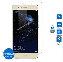 2 Pack/Lot Premium verre trempé pour Huawei P10 Lite 5.2 pouce protecteur décran trempé film de protection pour Huawei P10 Lite Glas
