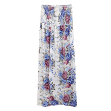 Women Off Shoulder Strapless Dress High Split Sexy Floral Dresses Women Sleeveless Elegant Vestidos De Fiesta Multiway Dress
