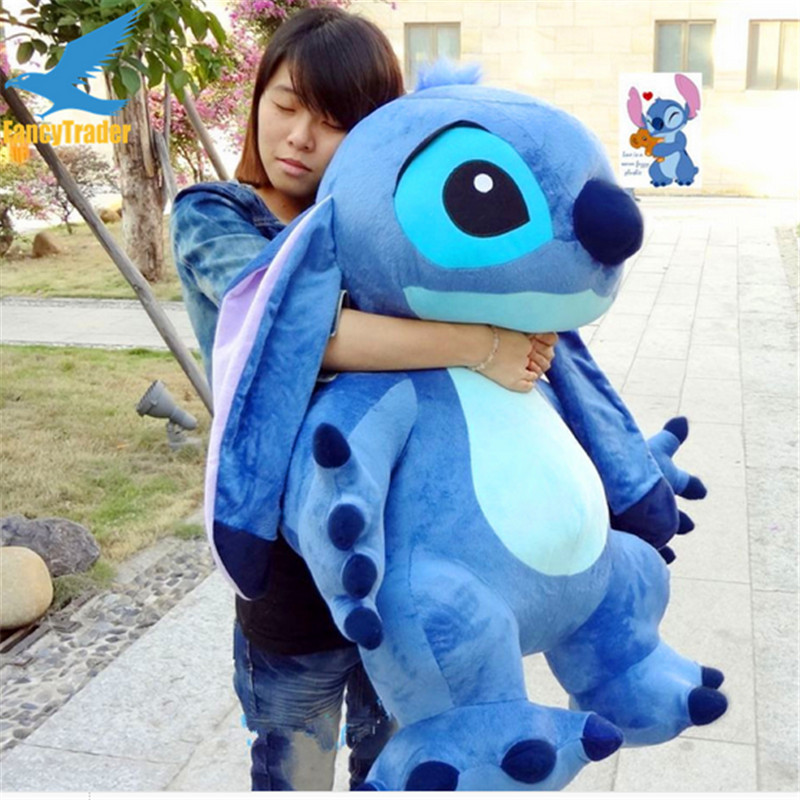 Fancytrader Real Pictures 35 '' Jumbo Giant Stitch Plush Dihiasi Soft - Mainan lembut - Foto 5