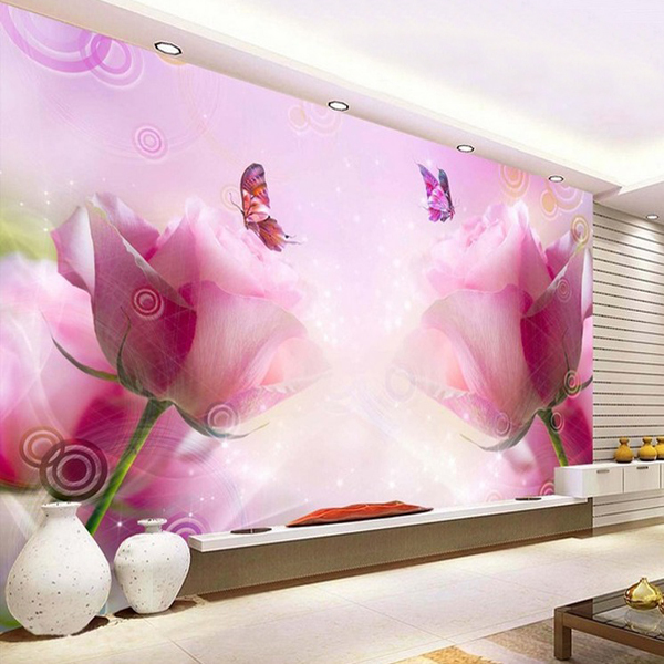 Aliexpress.com : Buy Free shipping TV backdrop wallpaper minimalist ...