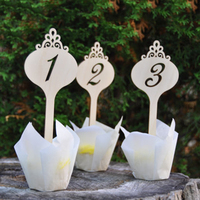 Wood Table Numbers Rustic Wedding Table Numbers Personalized Wedding Decor Wooden Cake Topper Seating Party Table
