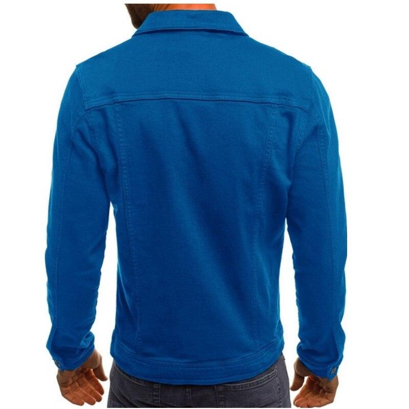 HTB1V j LNTpK1RjSZFMq6zG VXaQ 2019 men's Jacket casual overalls jacket jacket Coats Man Buttons