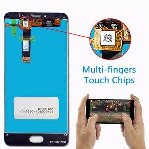 Image 3 - صفقة فريق شاشة الكريستال السائل 5.5 بوصة ل Meizu U20 مجموعة المحولات الرقمية لشاشة تعمل بلمس 1920*1080 إطار مع شحن المقسى زجاج و أدوات