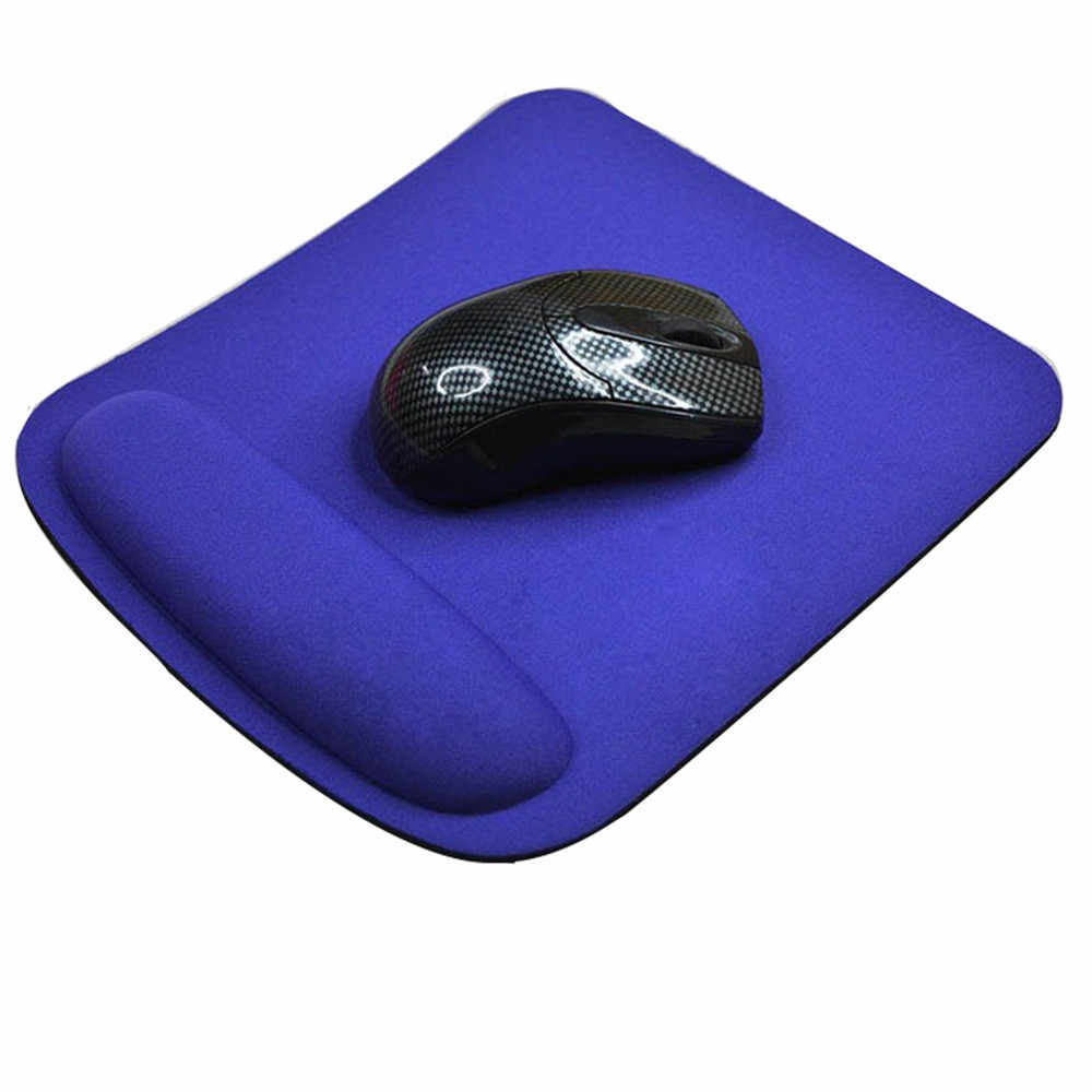 Almofada da esteira do rato do jogo do apoio do descanso do pulso do gel para o computador portátil do computador pc anti deslizamento presente caindo sept.16