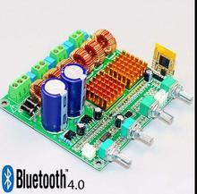 Bluetooth 4 digital class D class HIFI power amplifier subwoofer amplifier 3 channel 2 subwoofer