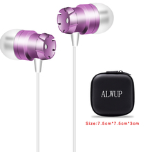 Earphones With Microphone For Android  Phone Wired Earphone Stereo Mic Earphones Headphone For Samsung Computer In Ear Buds earphones sony mdr zx110 headphone for phone earphones for computer on ear