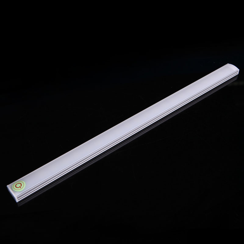 Dimmable 30CM USB LED Touch Sensor Light Strip Cabinet Wardrobe Cupboard Lamp