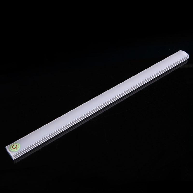 Dimmable 30CM USB LED Touch Sensor Light Strip Cabinet Wardrobe Cupboard Lamp