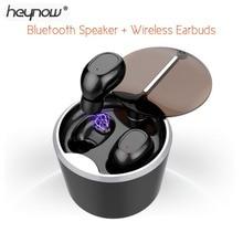 HEYNOW Jumeaux Sans Fil Écouteurs Bluetooth Haut-Parleur 2 in1 TWS Étanche Casque Stéréo Écouteurs Sans Fil Tactile pour iphone 7 Samsung(China)