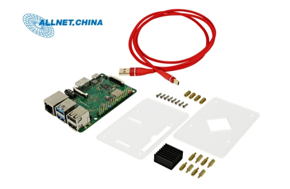 RK3399 single board computer ROCK PI 4B V1 4 Development board SET 1GB Wifi Bluetooth 5
