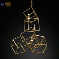led e27 Postmodern Iron Cubes Customized LED Lamp LED Light.Pendant Lights.Pendant Lamp.Pendant light For Dinning Room