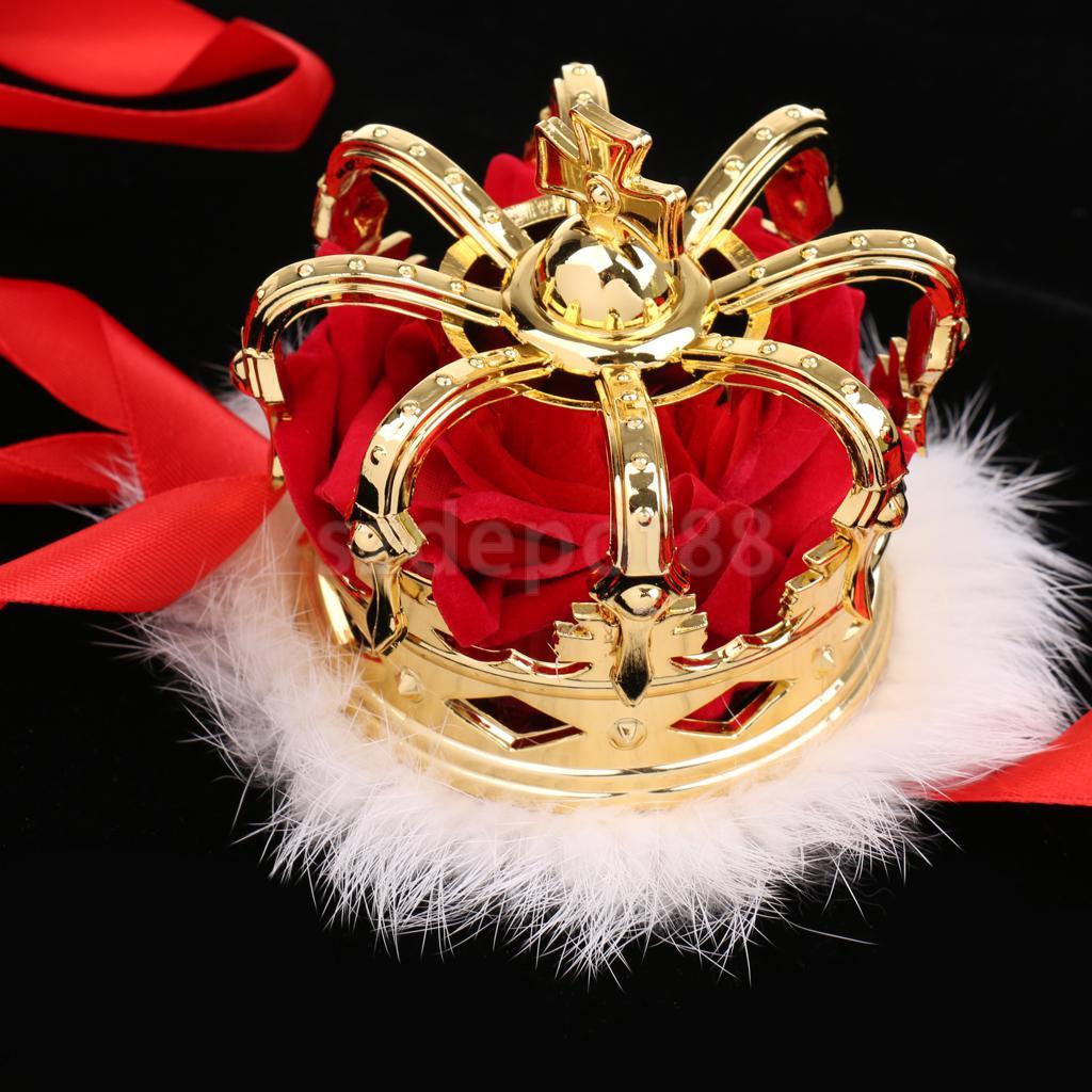 Delicate Mini Queen Crown Tiara Hat Costume Headwear Party Accessories