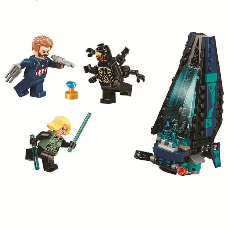 10834 Marvel Super Heroes Avengers Infinity War Outrider Dropship Attack Building Blocks Toys Gift compatible Legoings 7610110834 Marvel Super Heroes Avengers Infinity War Outrider Dropship Attack Building Blocks Toys Gift compatible Legoings 76101