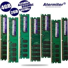 Новая одежда для маленькой девочки 2 ГБ/4 ГБ/2G 4G DDR2 PC2-6400 pc2 5300 4200 800 МГц 667 533 МГц для настольных ПК памяти DIMM оперативная память 240 булавки совместимые системы