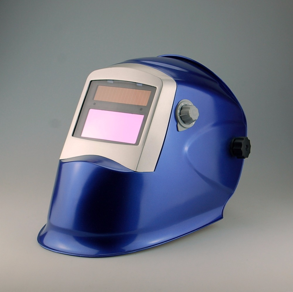 Suitable for long time argon arc welding automatic liquid crystal change color welding mask WH8511 blue Welding helmet