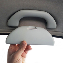 Модифицированный автомобиль солнца футляр для очков Солнцезащитные очки чехол держатель для хранения Авто крыши солнцезащитные очки ручка для VW Polo 6R для Skoda Октавия Рапид