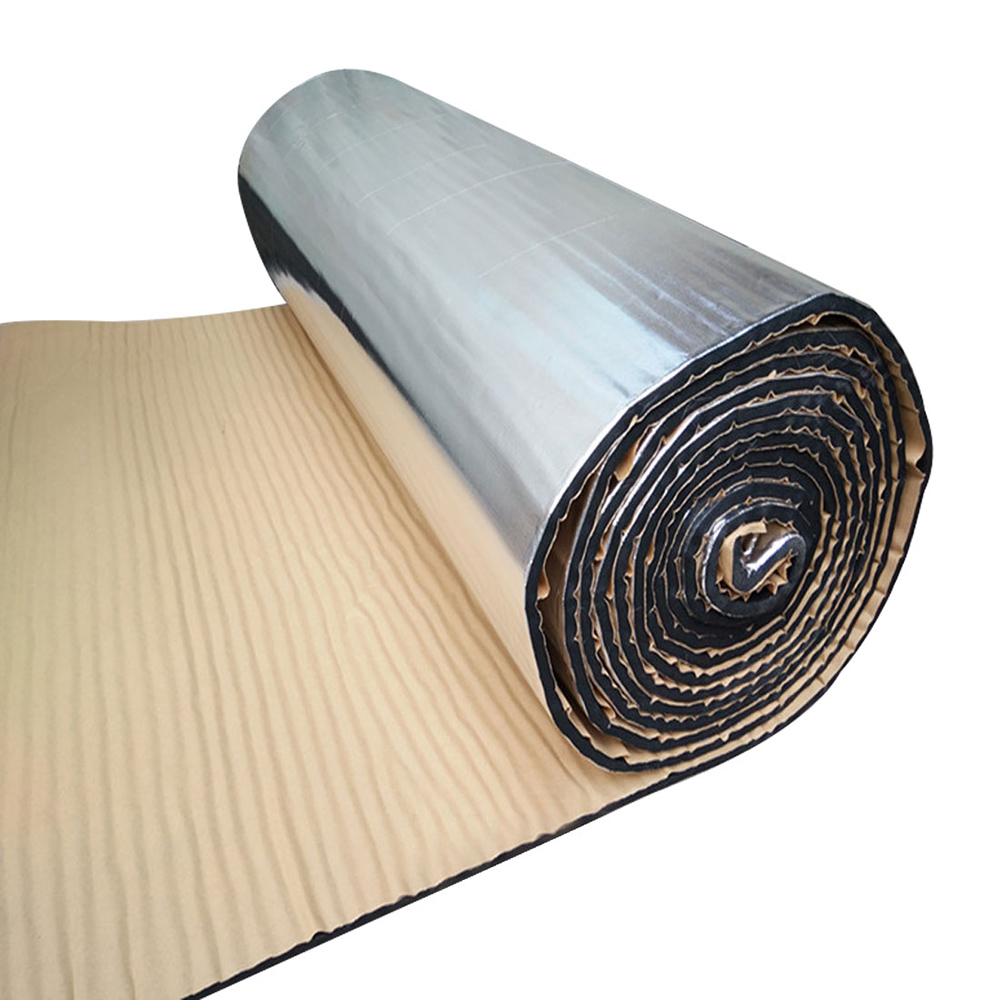 7mm 500x2000mm 20 Inchx79 Inch Auto Car Truck Firewall Heat Sound Deadener Insulation Mat Noise Insulation Wool Car Styling