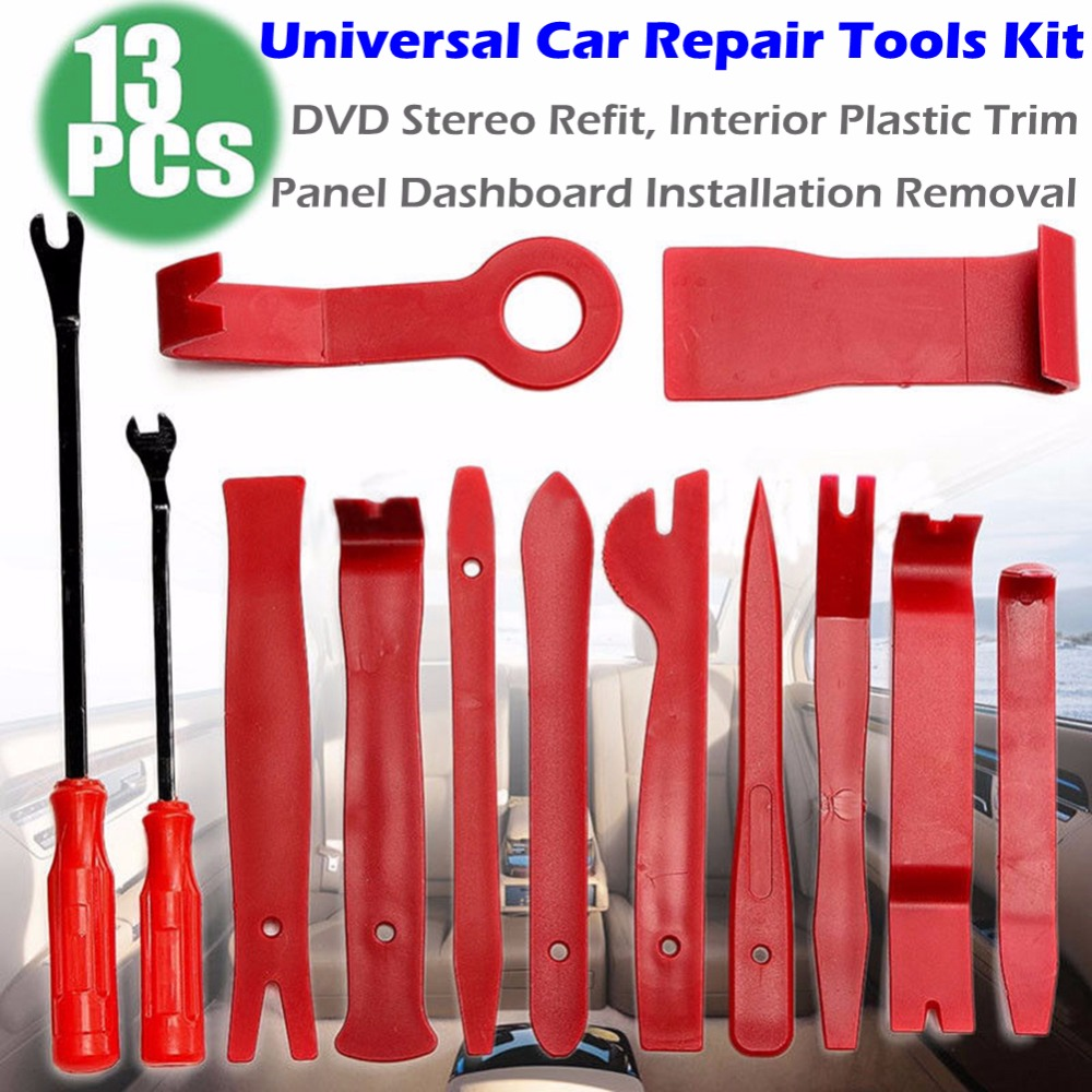 Car Repair Disassembly Tools Kit Pro Car DVD Stereo Refit Kits Interior Plastic Trim Panel Dashboard Installation Removal Tool