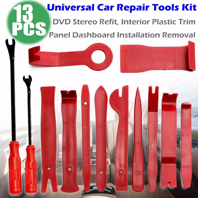 Pro Car Repair Disassembly Tools Kit Car DVD Stereo Refit Kits Interior Plastic Trim Panel Dashboard Installation Removal Tool