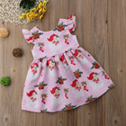 pudcoco Toddler Kids Baby Girl Dress Party Tutu Dress Clothes pudcoco cute baby girl xmas Christmas dress baby girl
