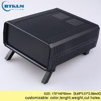 ABS diy project box plastic instrument case plastic enclosure junction box 170*140*60mm pcb circuit desktop wire connection box|Wire Junction Boxes| |  -