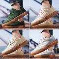 Новый Приход Лета мужская Стадо Обувь Корейской Моды Случайные мужская Обувь Дышащая Мужская Повседневная Обувь Кожаная Обувь Zapatos 39-44