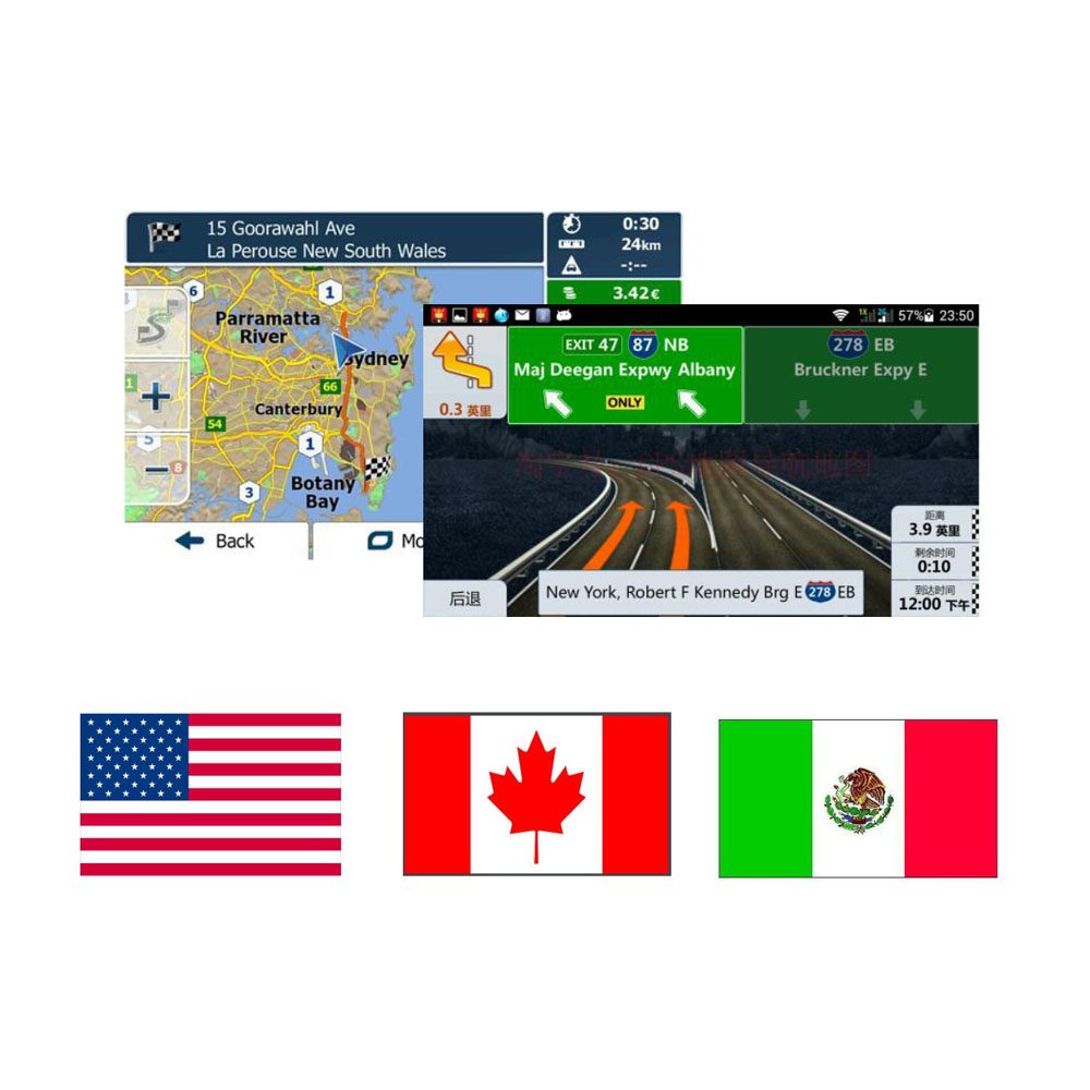 Android System G Gps Map Card With North America Usamexicocanada For Android