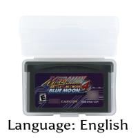 32 Bit Video Game Cartridge Mega Man Battle Network 4 - Blue Moon Console Card US Version English Language Support Drop Shipping