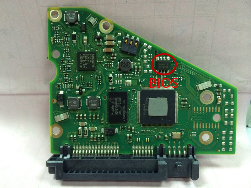 hard drive parts PCB logic board printed circuit board 100690899 for Seagate 3.5 SATA hdd data recovery hard drive repair 3T 4T
