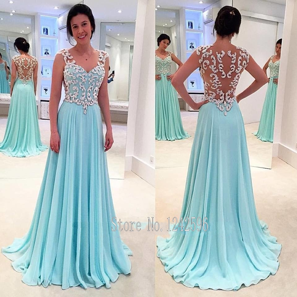 Popular Light Blue Prom Dress-Buy Cheap Light Blue Prom Dress lots ...
