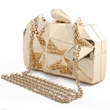 metal handbags women messenger bags clutches evening bag ladies shoulder bags wedding party lattice bag wallet bolsa feminina цена