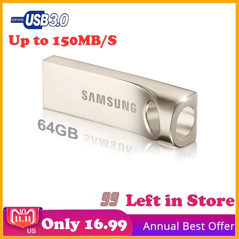 Samsung Original USB Flash 64 gb Pendrive Cle usb flash drive Disque sur clé Vitesse jusqu'à 150 mb/s Creative flash Memory Stick 64 gb