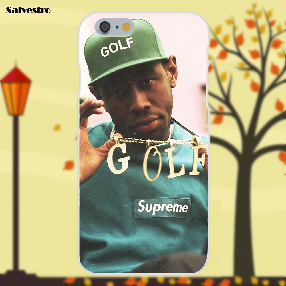 21d1bbc11773 Salvestro Golf Wang Tyler The Creator Ofwgkta TPU For Apple iPhone X 4 4S 5  5C SE 6 6S 7 8 Plus Galaxy Grand Core II Prime Alpha-in Half-wrapped Case  from ...