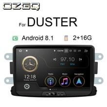 OZGQ Radio Car Android 8.1 9.0 System PX30 8 In-dash Multimedia For Dacia Lodgy Logan Duster Sandero Gps Video WIFi Navigation