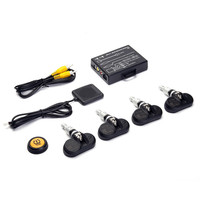 TP 05 Car TPMS Real Time Remote Monitoring Controlling Button Operation Tire Pressure Monitoring System