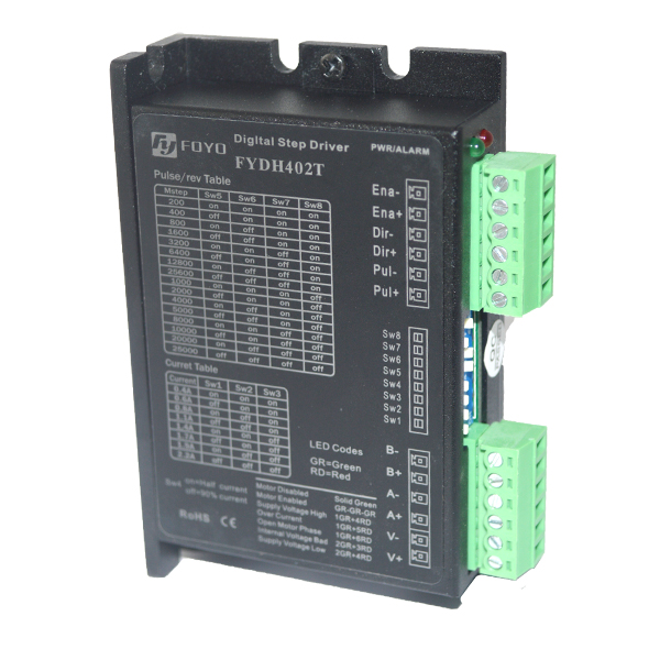 Digital stepper motor driver (two-phase)-FYDH402TDigital stepper motor driver (two-phase)-FYDH402T