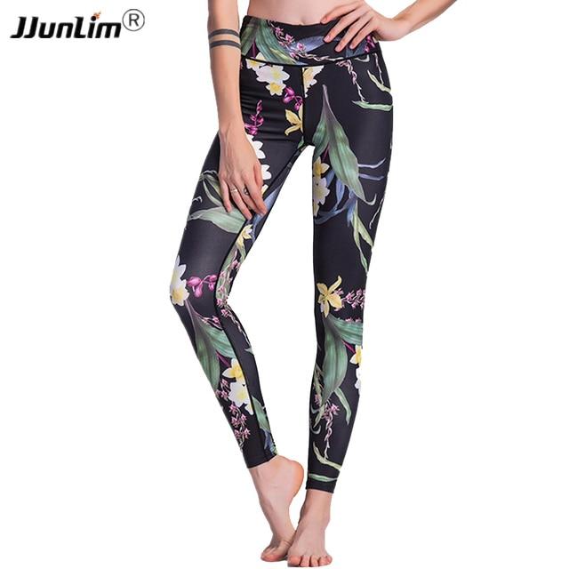 4f5c3b634b Women Sportswear Printed Yoga Pants Fitness Leggings Push Up Running Sport  Tights Women Workout Yoga Clothing Activewear Women