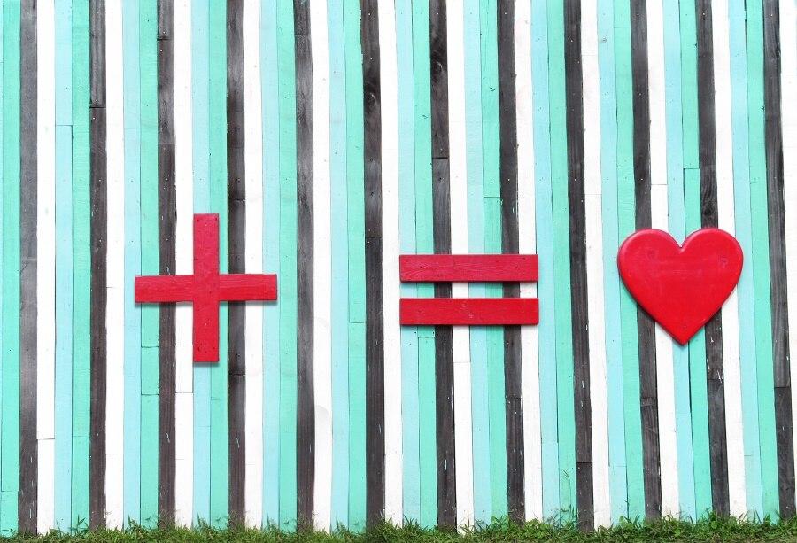 Laeacco Счастливый День святого Валентина фотографии фоны сердце любовь деревянная доска сцены фотографические фоны для фотостудии