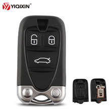YIQIXIN 3 Button Smart Car Key Case Replacement Remote Control Shell For Alfa Romeo 159 Brera 156 Spider With Blade