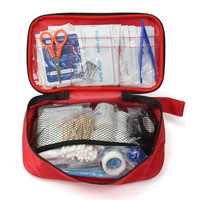 NEW Safurance 180pcs Pack Safe Outdoor Wilderness Survival Travel First Aid Kit Camping Hiking Medical Emergency
