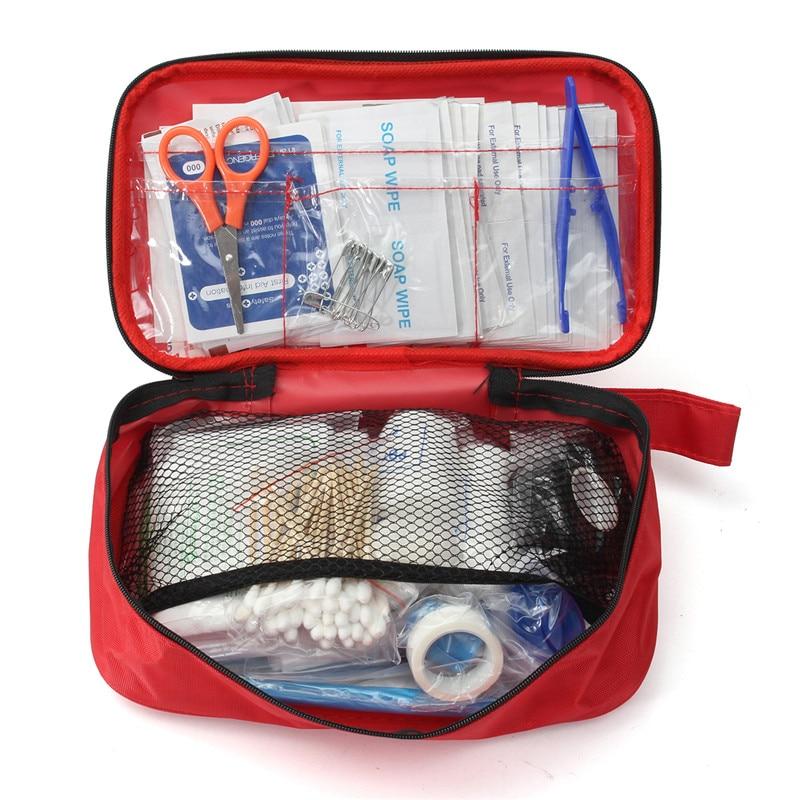 NUOVO Safurance 180 pz/pacco Sicuro Viaggio Kit di Pronto Soccorso Di Sopravvivenza Deserto All'aperto Escursione di Campeggio di Emergenza Medica Trattamento